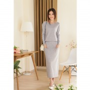 2014-new-spring-and-autumn-female-round-neck-floor-length-cashmere-sweater-one-piece-dress-casual2