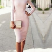 2015-New-Long-party-dresses-Autumn-dresses-High-collar-Sexy-bandage-Bottoming-Women-Dress-Casual-Dress5