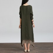 2015-Summer-Autumn-Fashion-Cotton-Linen-Vintage-Dress-Women-Casual-Loose-O-Neck-Boho-Long-Maxi4
