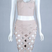 2015-new-ladies-gray-red-brown-white-nude-lilac-yellow-hollow-out-three-pieces-set-celebrity6