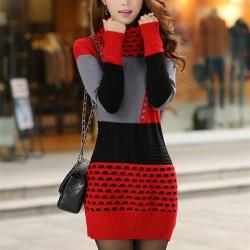 Woman-Winter-Dress-2015-Knitted-Dress-Turtleneck-Long-Sleeve-Women-Sweater-Dress-Sweaters-and-Pullovers-Plus1