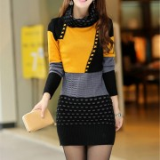Woman-Winter-Dress-2015-Knitted-Dress-Turtleneck-Long-Sleeve-Women-Sweater-Dress-Sweaters-and-Pullovers-Plus4