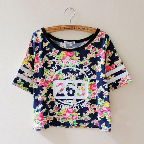 14-New-Fashion-Women-Summer-tshirt-Cotton-Short-Sleeve-Vintage-flower-Print-T-Shirt-number-Clothes-1