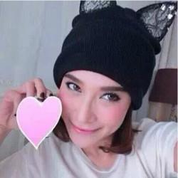 2014-New-Arrival-Winter-Warm-Hat-Women-s-Bud-silk-Devil-Horn-Knitted-Hats-Cat-Ears-1