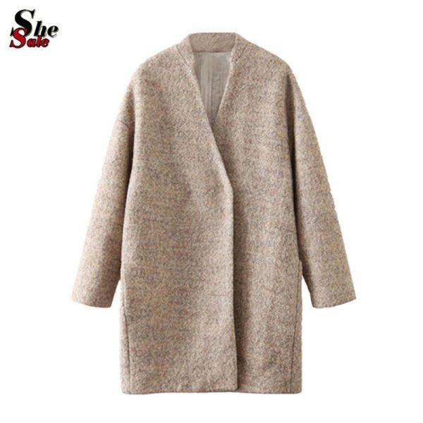 2015-Autumn-Winter-Sheinside-Desigual-Brand-Women-Fashion-Outerwear-European-Casual-Apricot-Long-Sleeve-Loose-Woolen-1