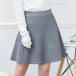 2015-Europe-and-America-autumn-winter-wrinkles-knitting-skirts-elastic-high-waist-slim-sexy-fold-women-1