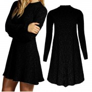 2015-Fashion-Winter-Dress-Long-Sleeve-Women-Casual-Sweater-Dresses-Ruffle-Basic-One-Piece-Pleated-Slim-3