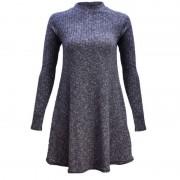 2015-Fashion-Winter-Dress-Long-Sleeve-Women-Casual-Sweater-Dresses-Ruffle-Basic-One-Piece-Pleated-Slim-4