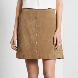2015-Faux-Leather-Solid-Skirts-womens-Fashion-Button-A-Skirt-For-Women-Sexy-Lady-Office-Skirt-1
