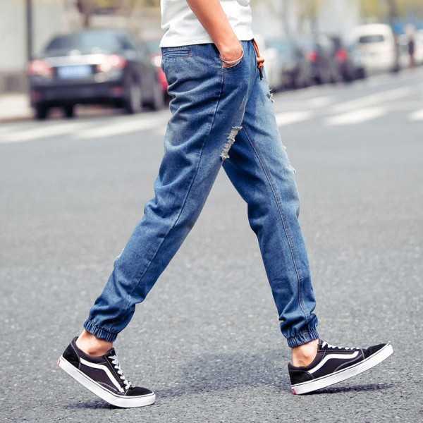 2015-New-Arrival-mens-Stylish-ripped-Jogger-Jeans-Skinny-biker-jeans-Denim-Pants-Plus-size-XXXL-1