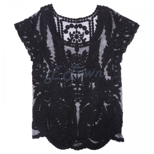 2015-New-Fashion-Lace-Embroidery-Floral-Crochet-Short-Sleeve-Women-s-Blouse-Retro-Sexy-Hollow-Out-1