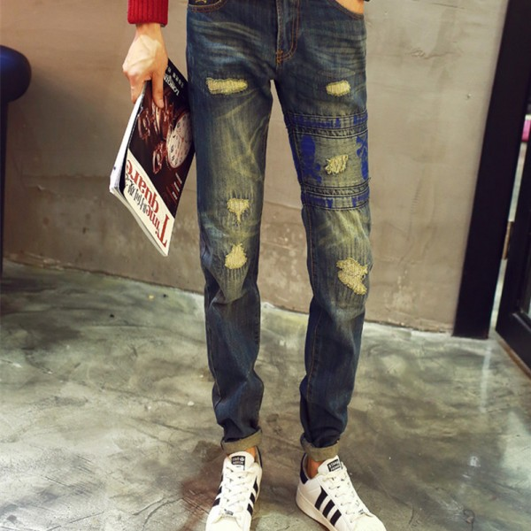 2015-New-Fashion-Men-s-Distressed-Jeans-With-Holes-Acid-Washed-Vintage-Casual-Denim-Pants-Ripped-1