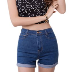 2015-New-Fashion-women-s-jeans-Summer-High-Waist-Stretch-Denim-Shorts-Slim-Casual-women-Jeans-1
