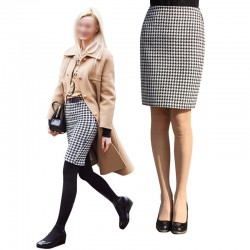 2015-New-Lady-Spring-Autumn-Sexy-OL-Above-knee-Mid-Waisted-Swallow-gird-Office-half-skirt-1
