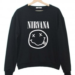 2015-New-Women-Sweatshirt-Jumper-NIRVANA-Smile-Print-Casual-Hoody-For-Lady-Hipster-Band-Street-Black-1