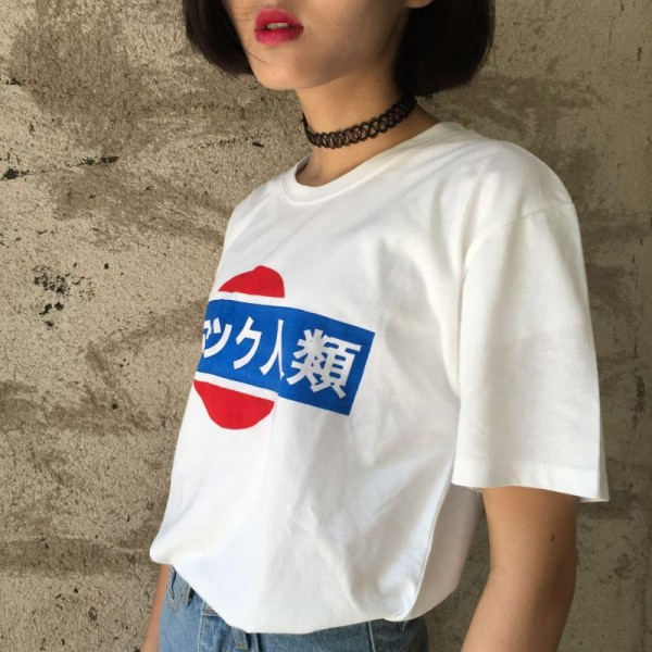 2015-Summer-ulzzang-Harajuku-exclusive-custom-short-sleeved-antihuman-trafficking-in-Japanese-T-shirt-1
