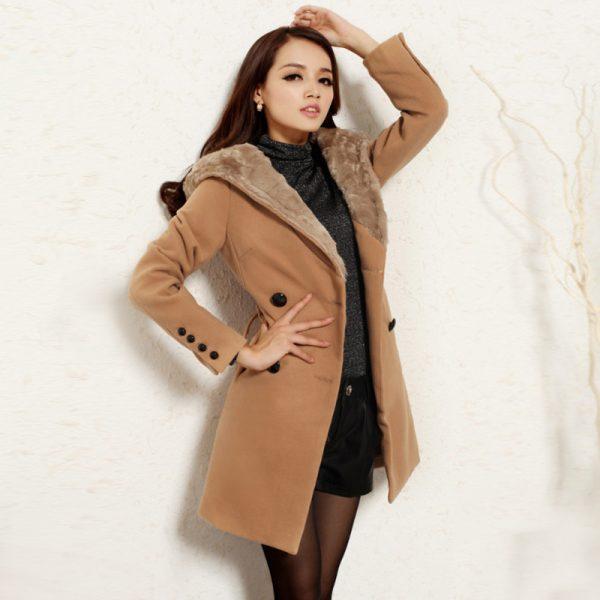 2015-Winter-new-Korean-women-long-slim-coat-thick-wool-coat-women-coat-wholesale-agents-Camel-1