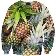 2015-Women-New-Style-O-neck-Fashion-Sweatshirt-Digital-Print-Fruit-Pineapple-2