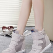 2015-fashion-Leather-Gray-Black-Pink-Blue-Brown-red-green-Women-womens-winter-Fashion-Woman-shoes-3