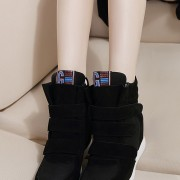 2015-fashion-Leather-Gray-Black-Pink-Blue-Brown-red-green-Women-womens-winter-Fashion-Woman-shoes-4