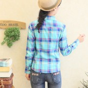 2015-fashion-tops-blouse-plaid-shirt-women-Colorful-Long-Sleeve-100-Cotton-shirt-ladies-plus-size-4