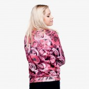 2015-new-Plus-Size-Autumn-Hoodies-Suit-Pullovers-Hoody-sweatshirts-3d-print-pink-rose-pattern-Winter-3