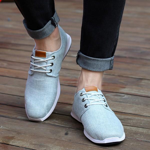 2015-new-Spring-summer-men-canvas-shoes-trend-lace-up-Casual-shoes-Fashion-breathable-men-shoes-1