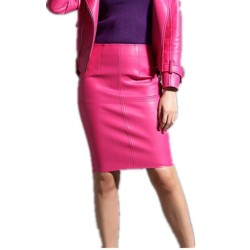 2016-New-Spring-Autumn-Women-Pu-Leather-skirts-Slim-Sexy-Knee-Length-Ladies-Pencil-Skirts-1