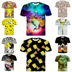 3D-Show-FT036-2015-Summer-Men-Women-3d-T-Shirt-Simpson-Miley-Animal-Wolf-Print-Brand-1