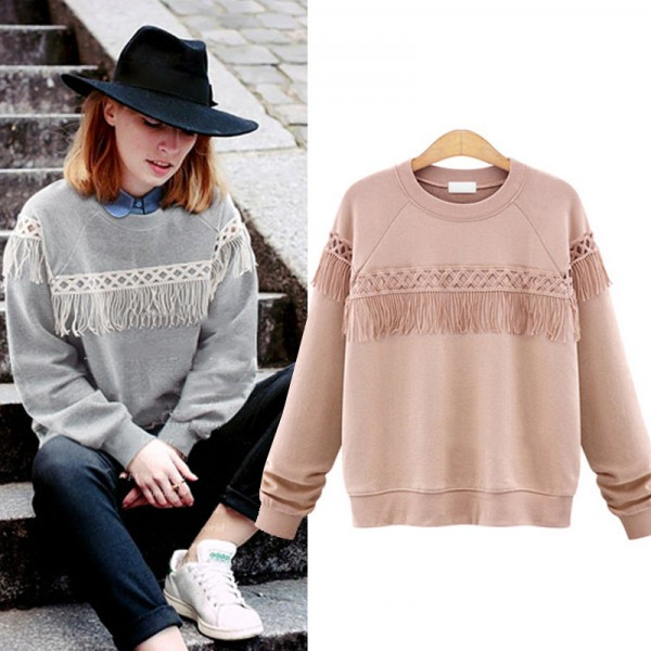 5XL-Plus-Size-Women-Fashion-Tassel-Long-Sleeve-Casual-Cotton-Hoodies-Loose-Sweatshirts-Outerwear-Pullover-Pink-1