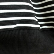Black-White-Stripe-Long-Sleeve-Drop-Shoulder-Loose-Casual-Sweatshirt-Size-M-L-2016-Spring-New-4