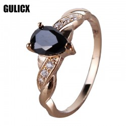 Cheap-Fashion-Designer-Finger-Teardrop-Ring-18K-Gold-Plated-Ring-Black-Cubic-Zirconia-CZ-Engagement-Ring-1