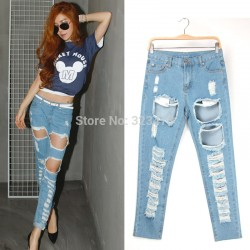 Chic-New-Arrivals-Hot-Loose-Denim-Jeans-Women-s-Distrressed-Tassel-Hole-Regular-Cross-Pants-Female-1