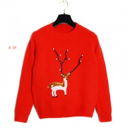 European-Christmas-Sweater-Beading-Christmas-Deer-Pull-Femme-Women-Sweaters-And-Pullovers-Fashion-O-Neck-Pullover-1
