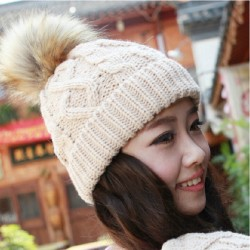 Faux-Fox-Fur-Pompoms-Hats-for-Women-Knitted-Acrylic-Skullies-Beanies-Keep-Ear-Warm-Solid-Color-1