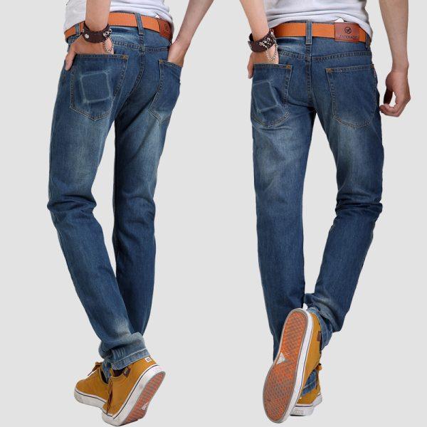 Four-seasons-2015-water-wash-men-Straight-jeans-fashion-casual-jeans-male-slim-denim-trousers-1019-1