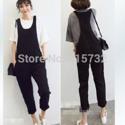Free-Shipping-2015-New-Plus-Size-Customized-XXXXL-All-match-Bib-Pants-Jumpsuit-And-Rompers-Casual-1