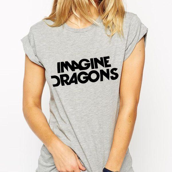 Free-Shipping-Imagine-Dragons-T-Shirts-Women-Cotton-O-Neck-Short-Sleeve-Womens-T-Shirt-Best-1