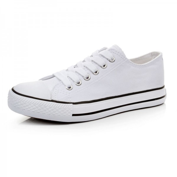 Free-shipment-Blank-shoes-Hand-Printed-DIY-Lovers-shoes-low-white-canvas-shoes-lacing-preppy-style-1