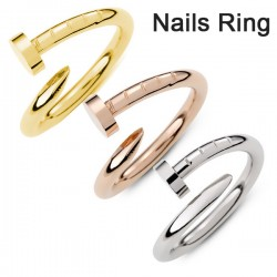 HOT-Fine-copper-Screw-nail-Finger-Ring-Fashion-star-models-of-style-Korean-drama-You-come-1
