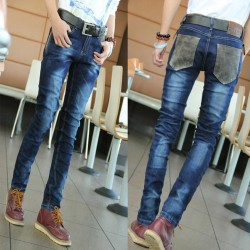High-quality-fashion-design-four-seasons-can-wear-jeans-men-s-casual-boutique-Slim-feet-stretch-1