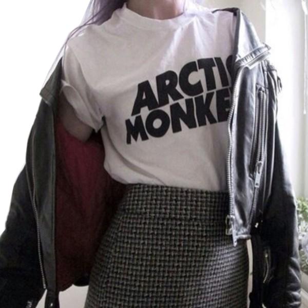 Hot-Sale-Summer-Women-Men-arctic-monkeys-Letters-Print-T-shirt-Fashion-Casual-3XL-Short-t-1