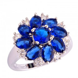 Hot-sale-Wholesale-Cluster-Round-Oval-Cut-Sapphire-Quartz-White-Sapphire-Silver-Ring-Size-6-7-1