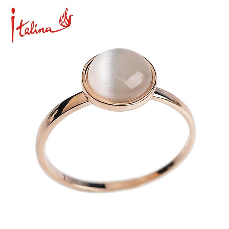 Rose gold wedding ring women