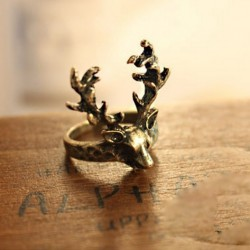 LZ-Jewelry-Hut-R147-The-2016-New-Wholesale-Fashion-Vintage-Alloy-Deer-Cheap-Rings-For-Women-1
