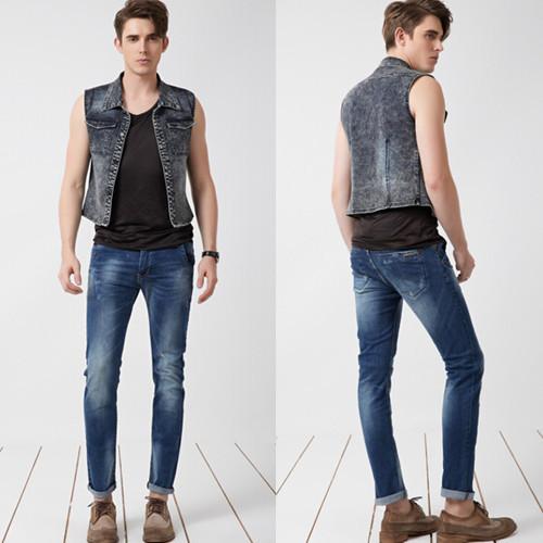 M-S-2015-new-spring-water-gradient-top-fashion-men-s-casual-denim-jeans-brand-men-1