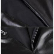 M-XXL-NEW-2016-Women-Long-Sleeve-Party-Dress-Leather-Look-Bodycon-Dress-Sexy-Club-Dress-5
