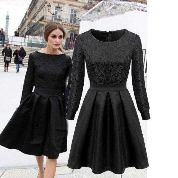 New-Arrival-2014-Winter-Dress-Elegant-Dobby-Ball-Gown-Dress-Fashion-Sheath-Women-Dress-FH2344-1