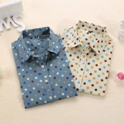 New-Brand-Long-Sleeve-Women-Shirts-Polka-Dot-Blusas-Femininas-Cotton-Floral-Print-Women-Blouses-Casual-5