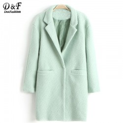 New-Design-Fall-Winter-Fashion-Overcoat-Women-Clothing-Classic-Mint-Green-Lapel-Double-Pocket-Longline-Wool-1